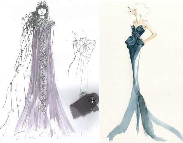 ceac31a95311 Elegante l abito di Rapunzel disegnato da ...