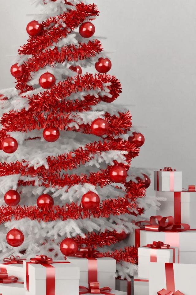 Albero Di Natale Bianco E Rosso.Albero Di Natale Azzurro