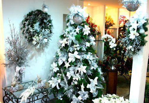 Decorazioni Albero Di Natale Blu : Albero di natale argento u fashioniamoci