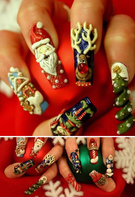 Unghie Fashion: Decorazione Unghie Natale