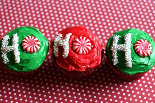 cupcake hohoho natale