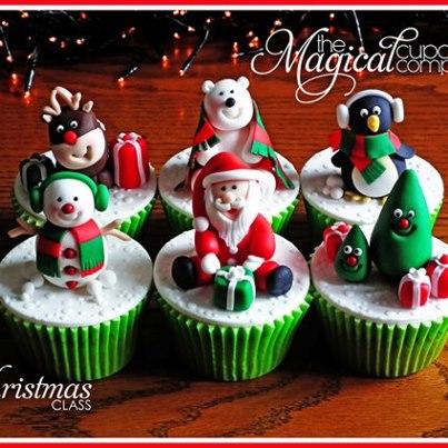 cupcake pupazzini natale