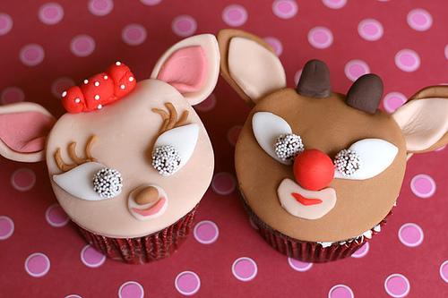 cupcake renne natalizie