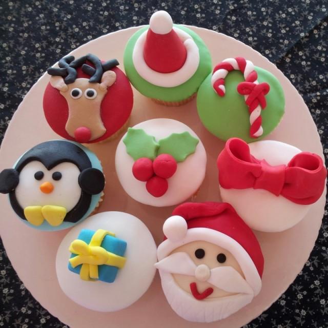 cupcake vari natalizi