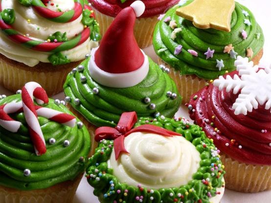 cupcake verdi natale