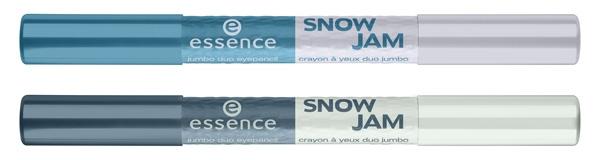 duo matita occhi essence snow jam