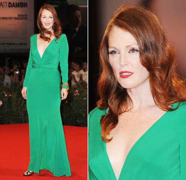 julianne moore in tom ford a venezia 2011