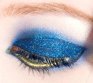 make up glitter per capodanno 2013
