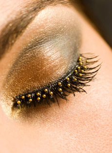 make up oro capodanno 2013