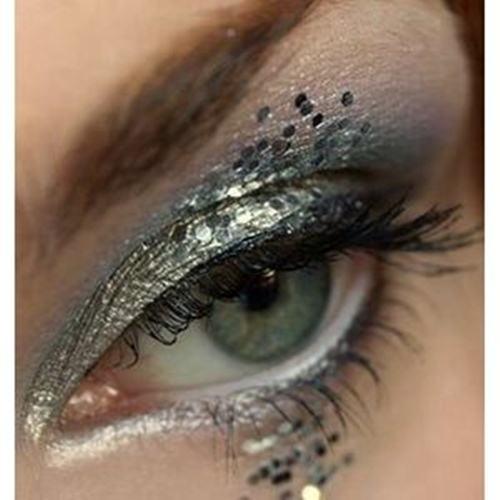 make up scaglie glitter capodanno 2013