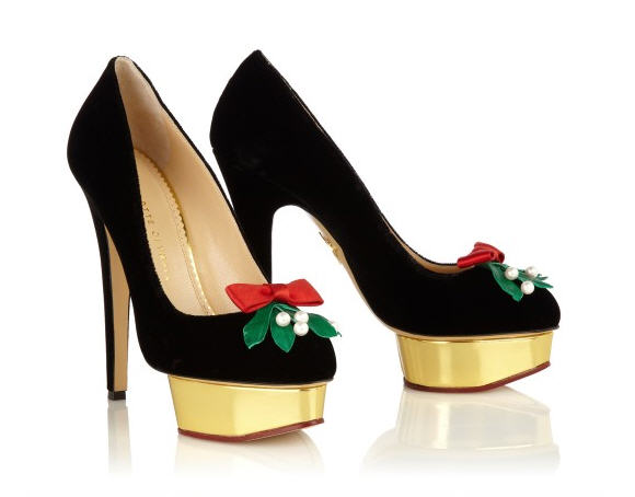 pumps charlotte olympia natale 2012