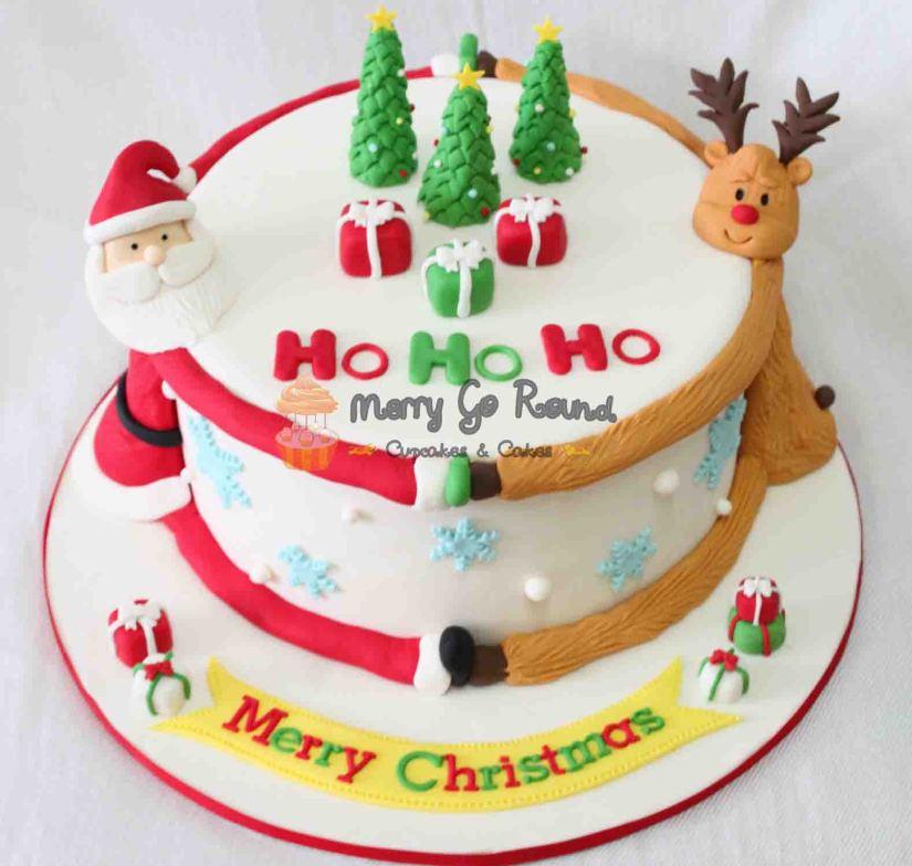 torta merry christmas