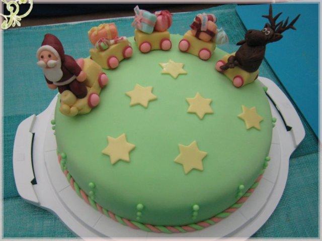torta natale in mmf