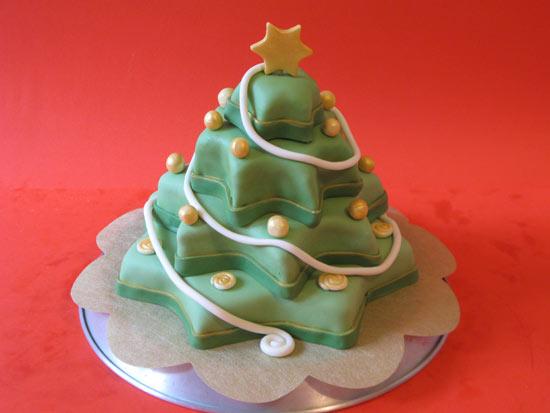 torta stella natale