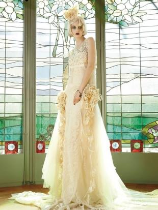 abiti da sposa yolan cris mademoiselle vintage 2013 10