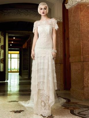 abiti da sposa yolan cris mademoiselle vintage 2013 14