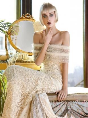 abiti da sposa yolan cris mademoiselle vintage 2013 2