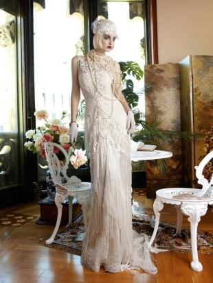 abiti da sposa yolan cris mademoiselle vintage 2013 3