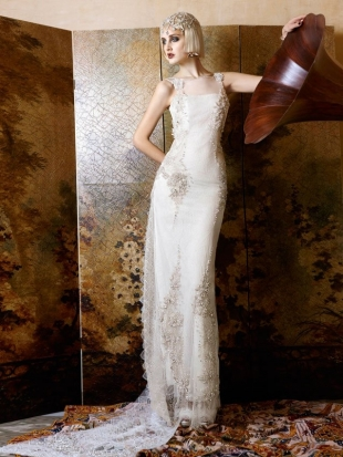abiti da sposa yolan cris mademoiselle vintage 2013 4