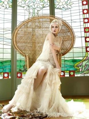 abiti da sposa yolan cris mademoiselle vintage 2013 9