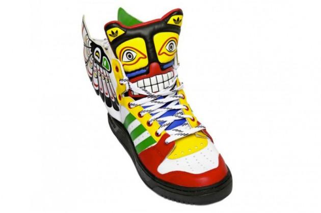 adidas totem sneakers by jeremy scott