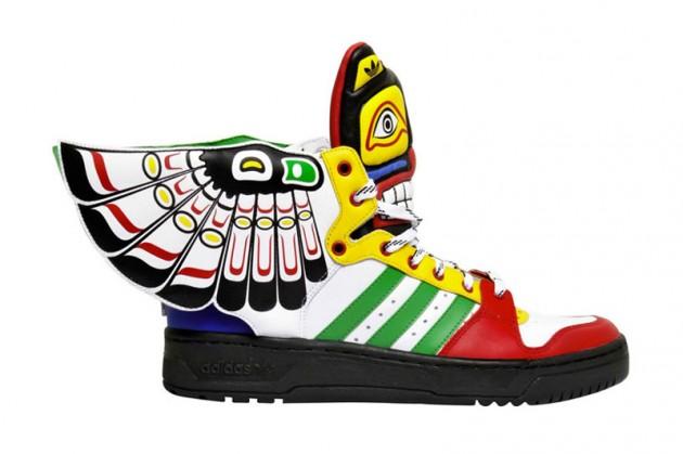 adidas totem sneakers di jeremy scott