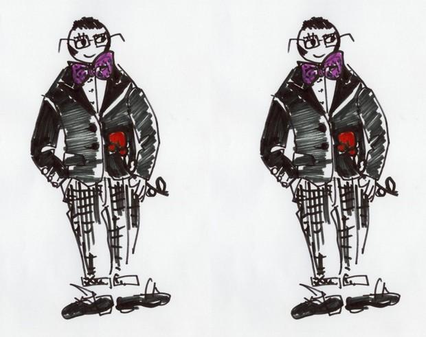 alber elbaz corto fashion per lancome