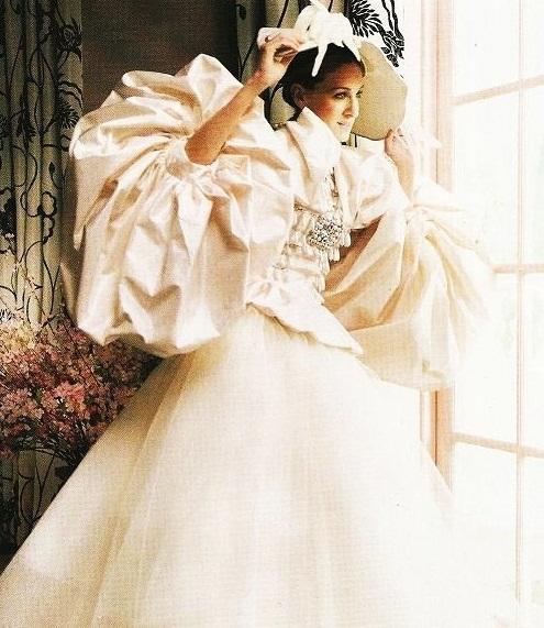 carrie abito da sposa dior