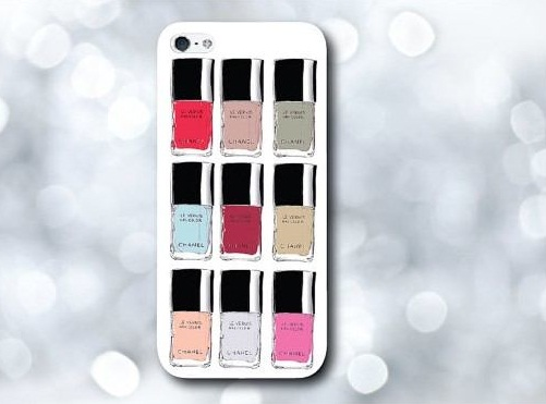 case iphone smalti chanel