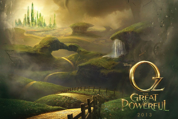 disney oz the great of powerful 2013
