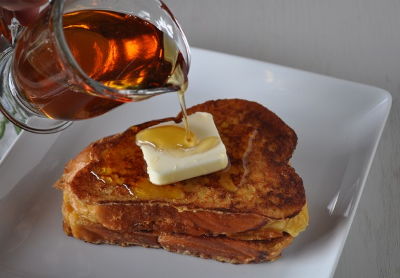 french toast sciroppo d'acero 2