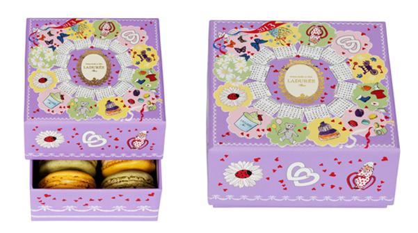 laduree calendar box 2013