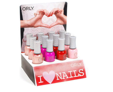 orly i love nails san valentino 2013