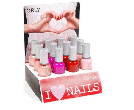 orly i love nails san valentino 2013