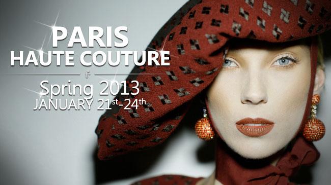 PARIS HAUTE COUTURE PRIMAVERA 2013