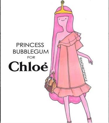 princess bubblegum per chloe