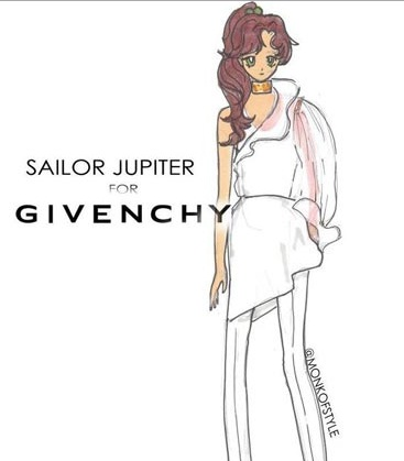 sailor jupter per givenchy