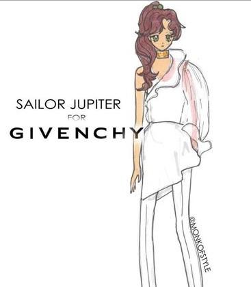 sailor jupter per givenchy