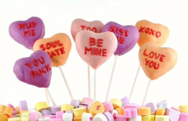 san valentino cake pops