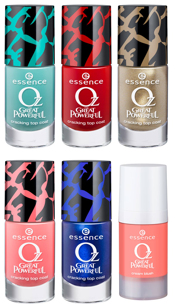 smalti e top coat essence oz the great and powerful