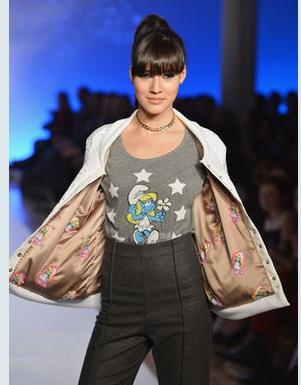 abiti puffi settmana della moda di new york 2013 3