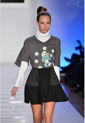 abiti puffi settmana della moda di new york 2013 5