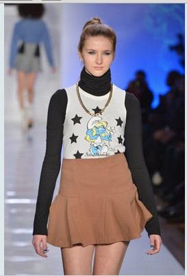 abiti puffi settmana della moda di new york 2013