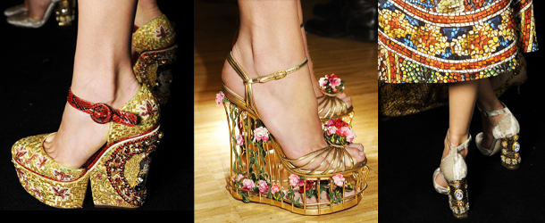 Dolce-Gabbana scarpe 2014