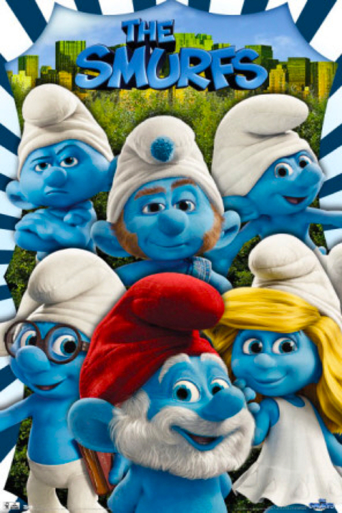 i puffi the smurf