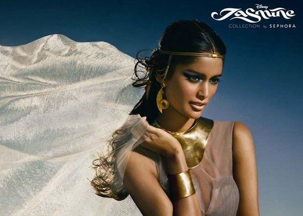 """A primeira coleção é inspirada na princesa Jasmine, do filme """"Aladdin"""""""