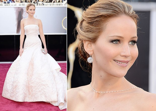 jennifer-lawrence-vestito dior oscar-2013