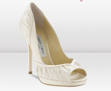 jimmy choo scarpe sposa 2013