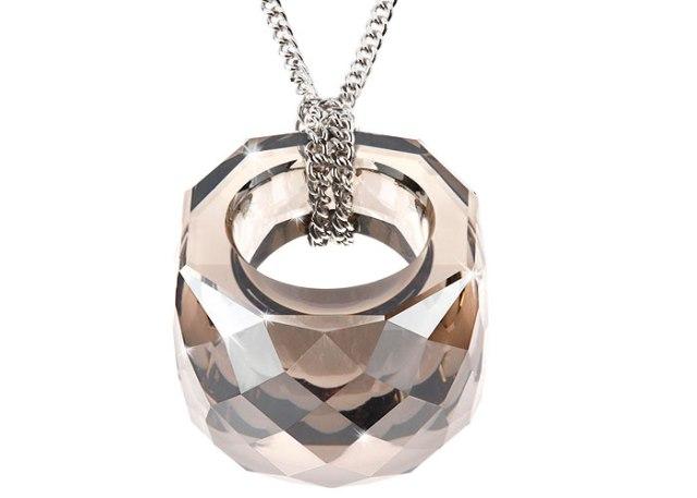 pendente miniatura anello nirvana swarovski