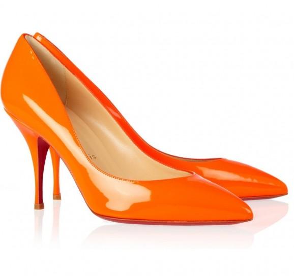 pumps arancioni